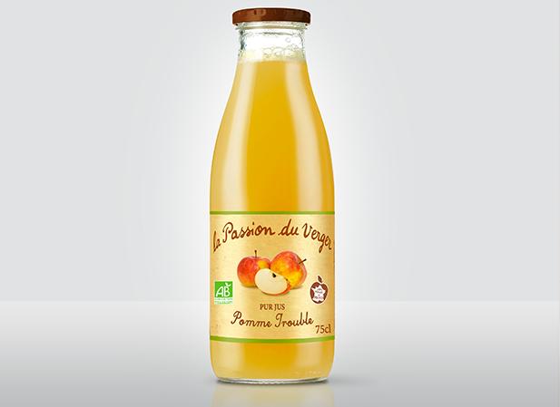 bouteille La Passion du Verger Pomme Trouble