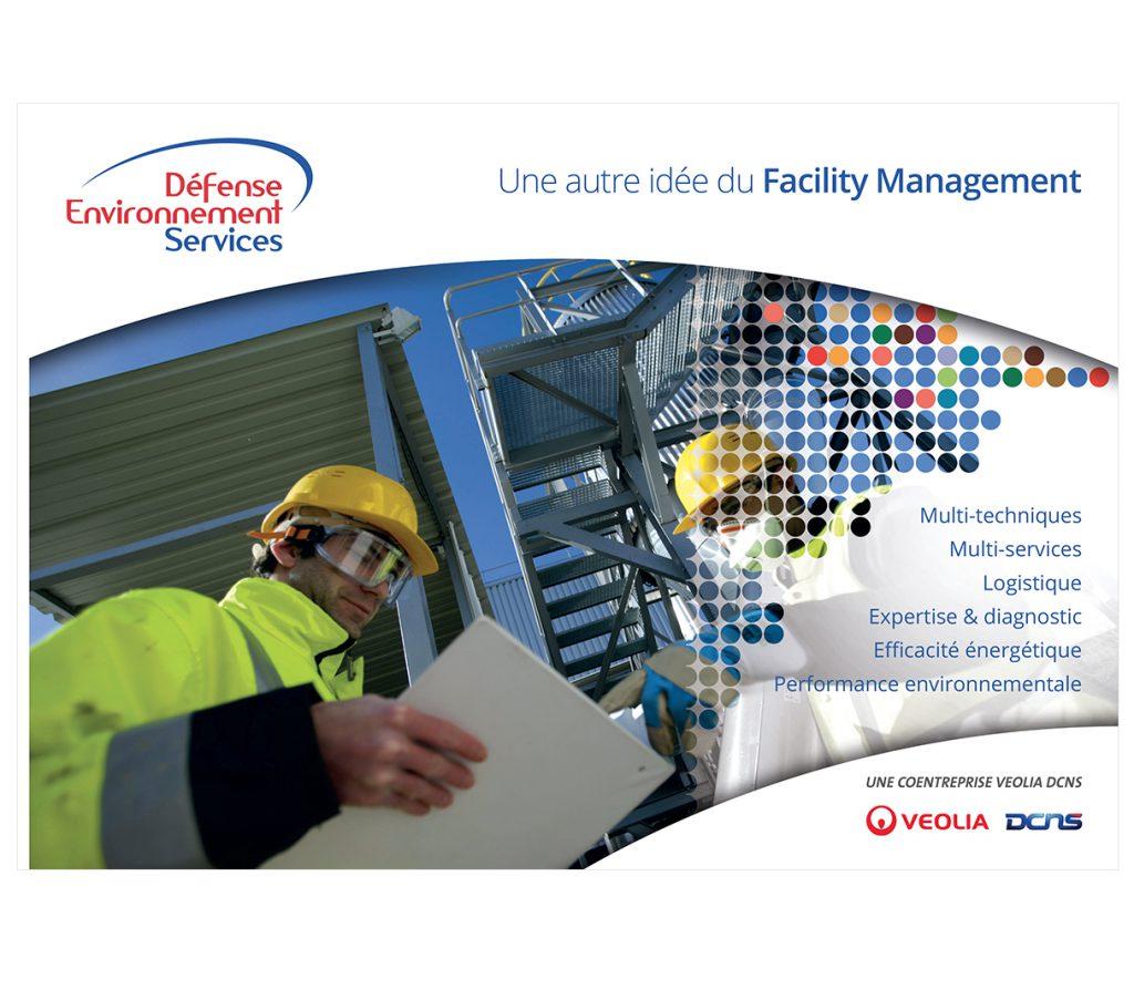 1ere de couverture de la brochure DES