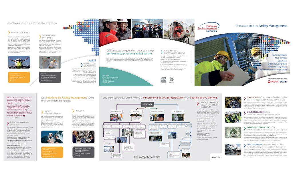 vue globale de la brochure DES a plat